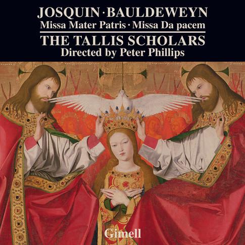 Josquin - Missa Mater Patris. Bauldeweyn - Missa Da pacem.