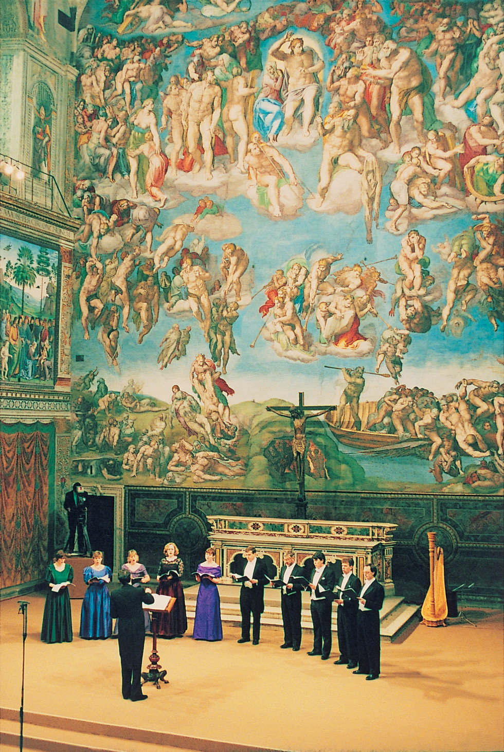 The Tallis Scholars in the Sistine Chapel