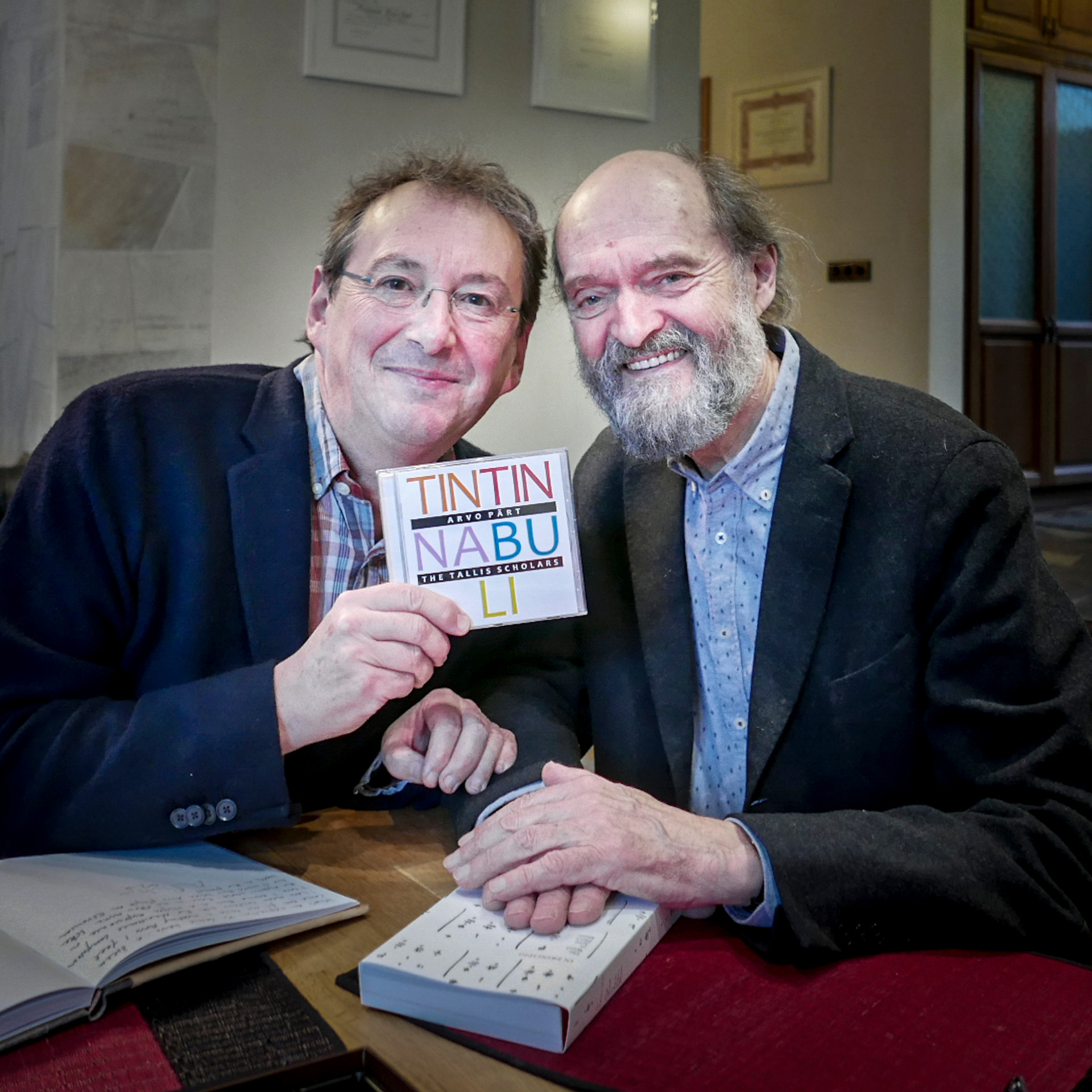 Peter Phillips and Arvo Pärt