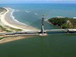 A primeira ponte estaiada da Bahia é de Ilhéus!