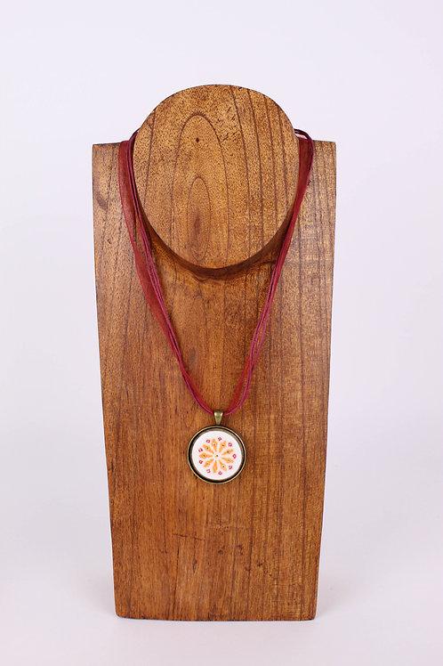 Mandala naranja
