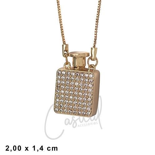 Necklace Perfumeiro with stones x 45cm