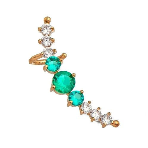 Earcuff with round stones