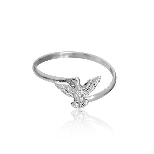 Dove Holy Spirit Ring (925 Silver)