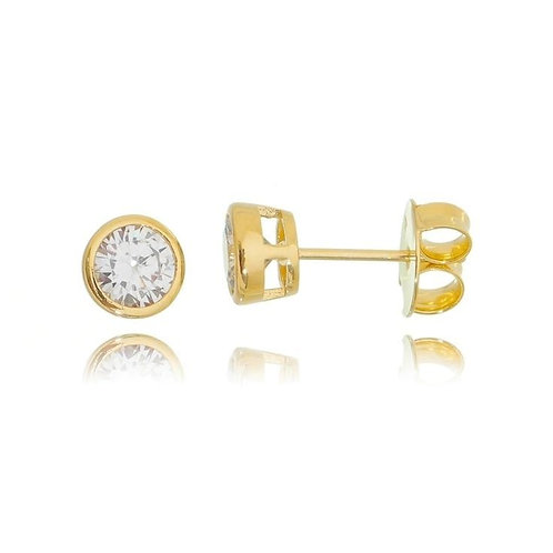 Earring with Stone 6mm