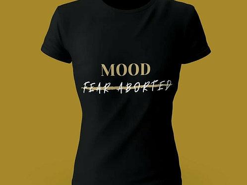 Short-Sleeve Unisex T-Shirt black shirt MOOD FEAR ABORTED