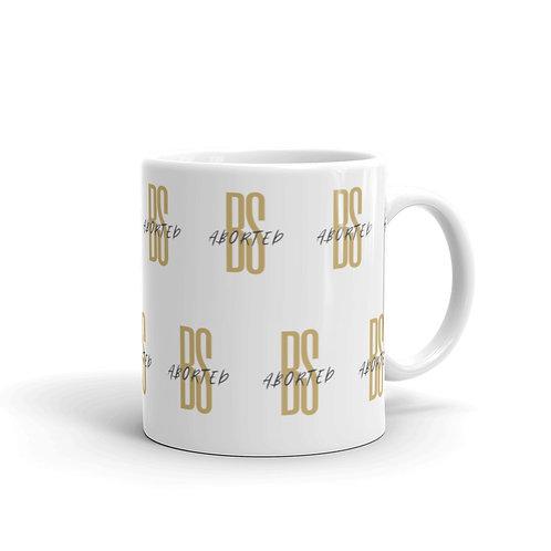 White glossy mug BS ABORTED ALL OVER MUG