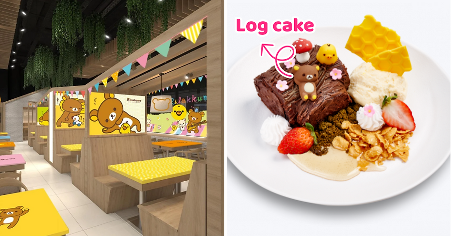 Kumoya's New Rilakkuma-Themed Cafe Opens On 29 August In Orchard