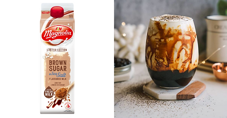 New: Magnolia Releases Limited Edition Brown Sugar & Sea Salt Flavoured Milk Drink