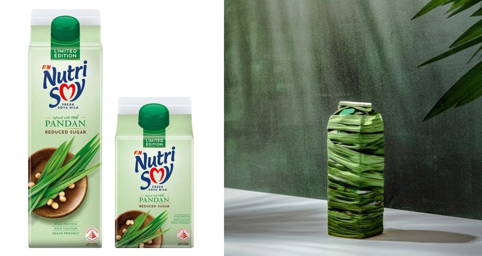 NutriSoy Releases New Limited Edition Pandan Soya Milk