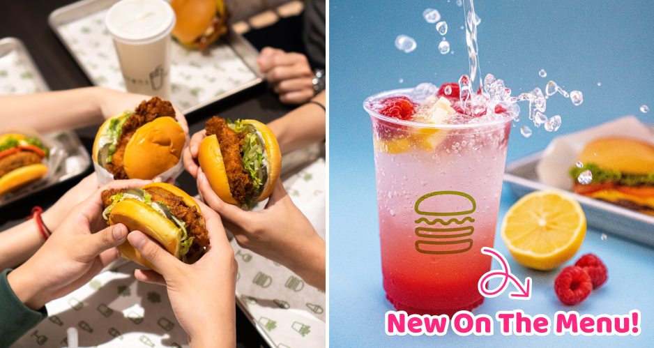 Shake Shack Debuts Lemonades & Concretes, Sold Exclusively At The New Outlet