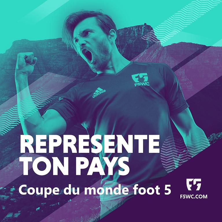 Coupe du monde de foot 5 F5WC
