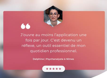[Episode 1] Ils ont choisi Prismea et nous expliquent pourquoi : Delphine Psychanalyste à Nîmes