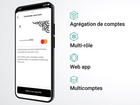 De nouvelles fonctionnalités disponibles sur l'application Prismea