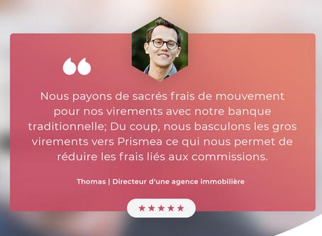 [Episode 4] Ils ont choisi Prismea et nous expliquent pourquoi: Thomas, directeur agence immobilière