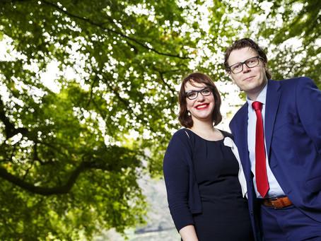 Pieter Henzen en Annemieke Tissink