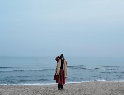 Vintage beach portrait - Clara Esmoris
