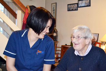 Tips for taking care of an elderly relative