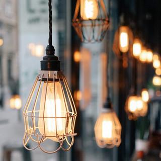 Lámpara de jaula