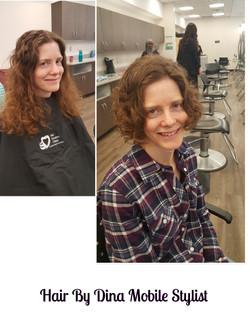 Fabulous Curly Haircut & Style!