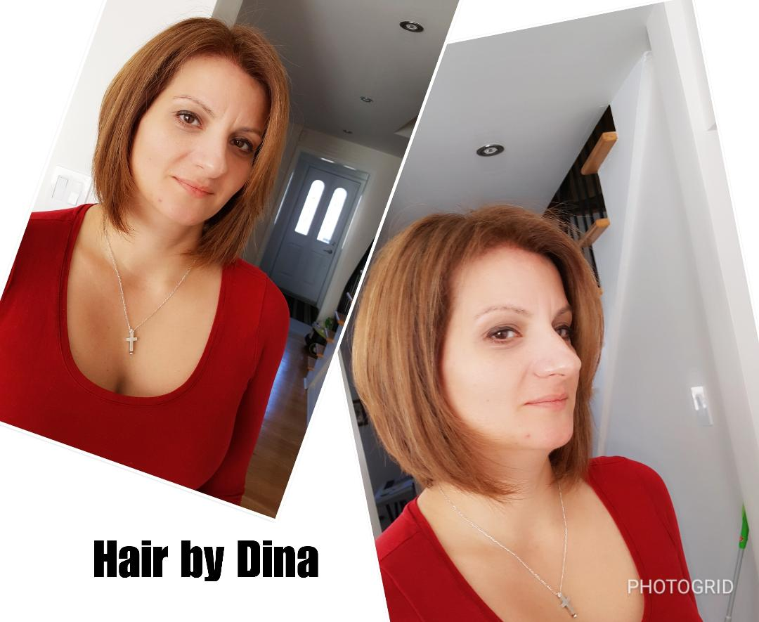 Hair design by Hair by Dina Mobile