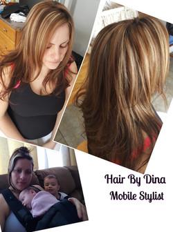 Hair Colour Transformation!