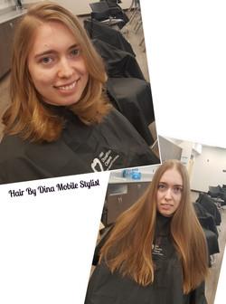 Haircut & Style Transformation