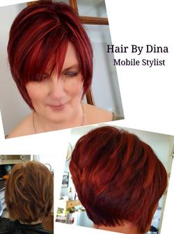 Hair Colour & Cut T
