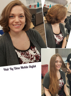 Haircut And Style Makeover
