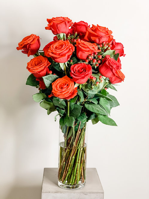 Valentine's Day Bouquet - Rose' All Day