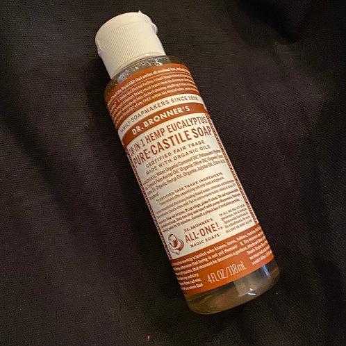 Dr. Bronzers Castile Hemp soap ~4oz