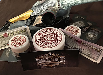 Tattoo aftercare for Seventh Seal Tattoo Club in Panama City Fl Hustle Butter Deluxe