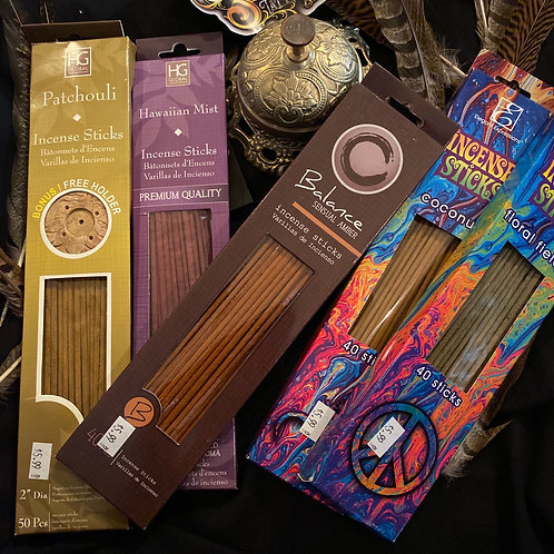Incense, box ~40 sticks