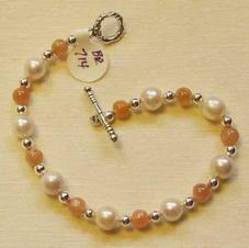 Pearls & Moonstone