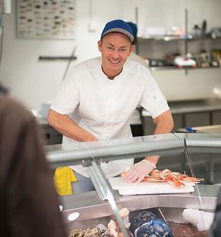 Bestilling av fersk sjømat, fisk og skalldyr