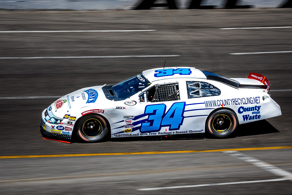 Willie Mullins qualifying for the ARCA Music City 200