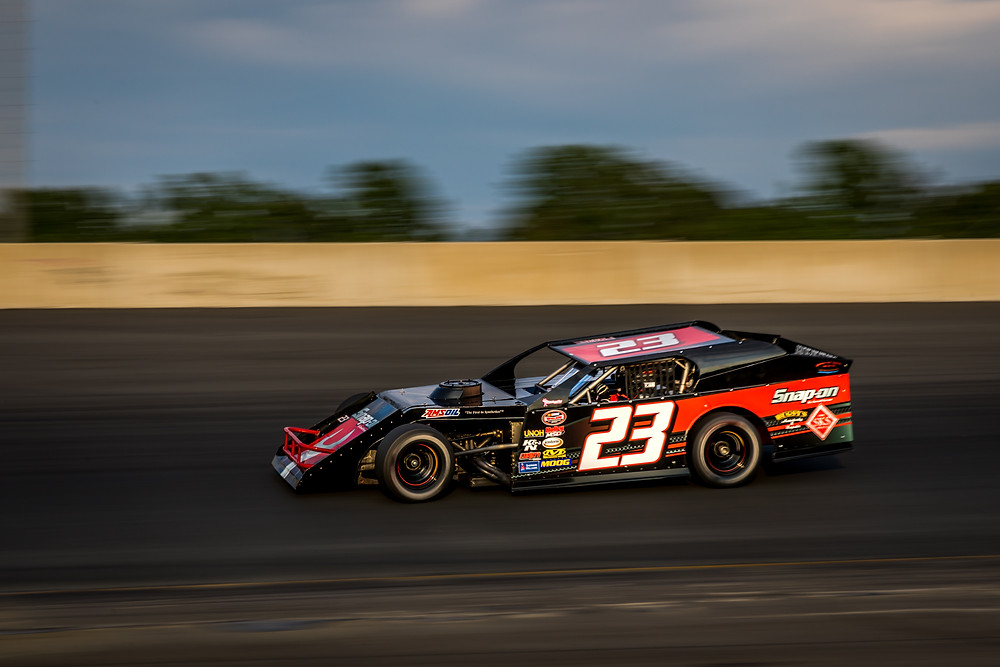 Peyton Ferree at Dominion Raceway in Thornburg, VA