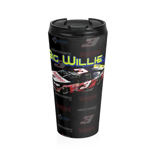 2021 Willie Mullins Daytona Stainless Steel Travel Mug