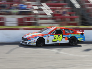 Mullins Strong Night Derailed in the Pits at Elko