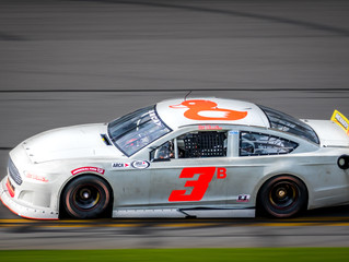 Mullins and Team Strong at Daytona Test