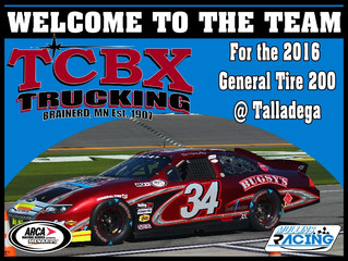 Mullins Racing Welcomes TCBX to the Team