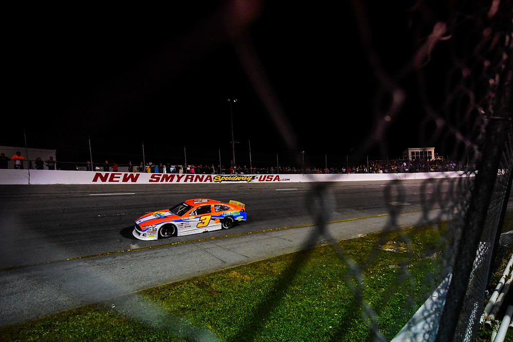 PHOTO: Willie Mullins made his ARCA Menards Series East debut at New Smyrna Speedway on Monday evening. (Daylon Barr Photo)
