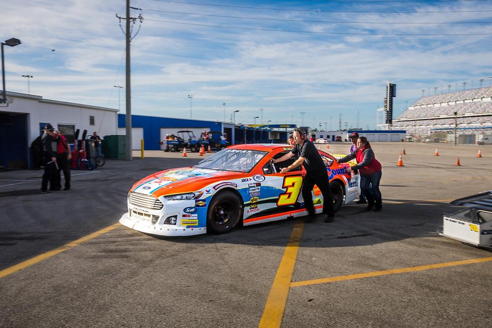 Mullins Racing County Waste Ford at Daytona