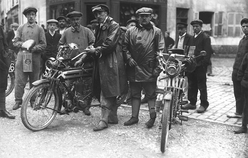 Paris-Liège 1912 | Jules Neyunt and F. Delamain