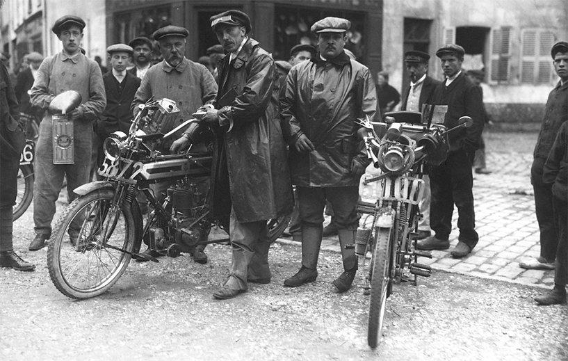 Paris-Liège 1912 |Jules Neyunt andF. Delamain