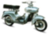 Saroléa Djinn125cc two-strokes, bi-cylinder, 6.5HP