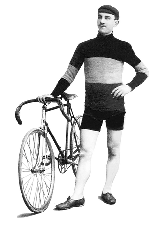 Henry Hanlet rider of Royale Sarolea Cycling Team in 1909
