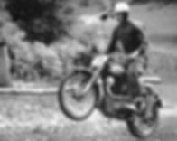 Saroléa 500cc | André VanHeuvelwijn at the GP des nations at Brands Hatch in 1952