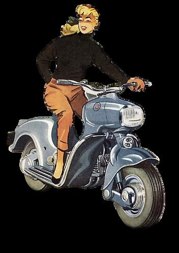 Saroléa Djinn 125cc in 1955