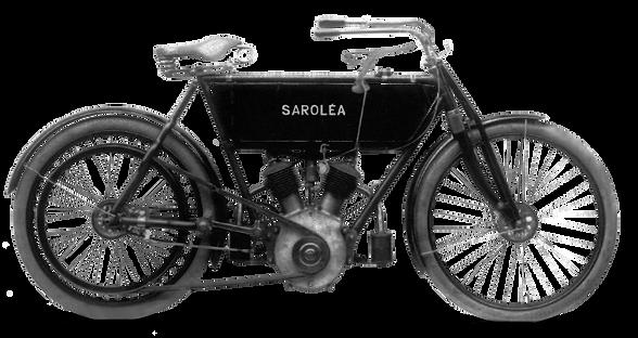 Sarolea V Twin 1907 (open frame)